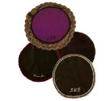 2 Pack Of Round Dap Cloths