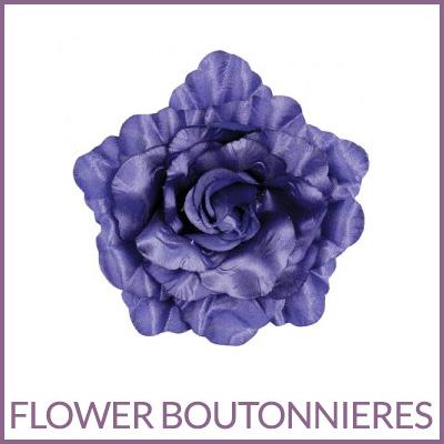 Flower Boutonniere Pins